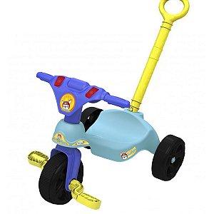 Triciclo Infantil Criança 12 Meses a 23 Kg Com Empurrador Fox Racer Xalingo