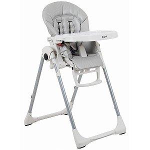 Cadeira de Refeição Infantil Reclinável Ajuste Altura De 0 a 36 Meses Prima Pappa Zero 3 Ice - Burigotto