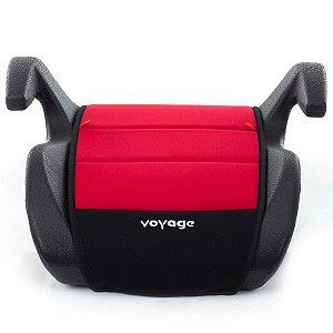 Assento Para Auto Booster Para Bebe 15 a 36 Kg Eleva Vermelho - Voyage