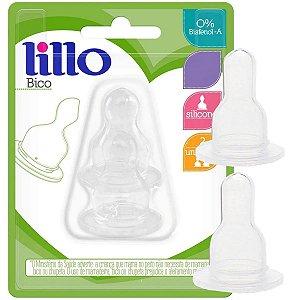 Kit 2 Bicos de Mamadeira Silicone Bebê Tamanho Universal Naturform Lillo