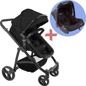 Carrinho de Bebê Vip 3 em 1 Travel System + Bebê Conforto Gama - Voyage