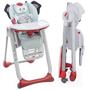 Cadeira De Alimentação Refeição Bebê Criança Do Nascimento Até 36 Meses 15 Kg Polly 2 Start B Elephant Chicco