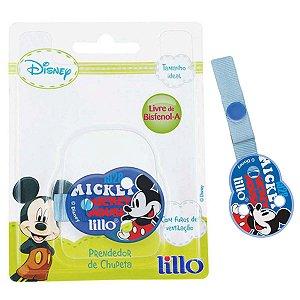 Prendedor de Chupeta Para  Bebê Disney Mickey Lillo