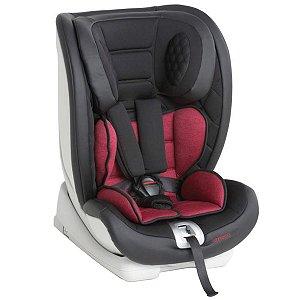 Cadeira de Bebê para Auto Isofix Reclinável De 9 a 36Kg Techno Fix Black Red