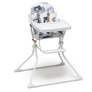 Cadeira Alta De Bebe Para Alimentação Refeição Aviador Standard II Até 15 Kg Galzerano