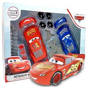 Kit Carrinhos Relâmpago Mcqueen Pixar Disney Monta e Desmonta Brinquedo Criança A partir dos 3 Anos Toyng