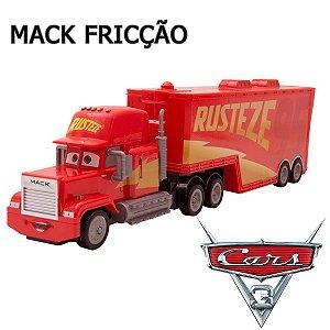 Carrinho de Fricção Caminhão Mark Carros Relampago Mcqueen Pixar Disney Toyng