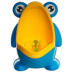 Mictório Infantil Criança Sapinho Desfralde Stand Up Azul K Baby