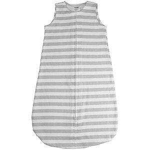 Saco para Bebê Dormir De 0 até 6 Meses 100% Algodão Sleeping Bag Cinza - Comtac Kids