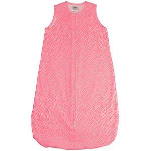 Saco para Bebê Dormir De 0 até 6 Meses 100% Algodão Sleeping Bag Rosa - Comtac Kids