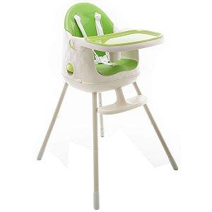 Cadeira de Refeição Infantil Jelly 3em1 Desmontável Portátil Alimentação Criança Bebê De 6 Meses a 25kg Green - Safety 1