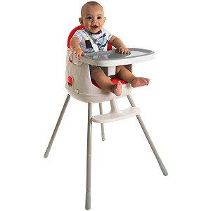 Cadeira de Refeição Infantil Jelly 3em1 Desmontável Portátil Alimentação Criança Bebê De 6 Meses a 25kg Red - Safety 1st