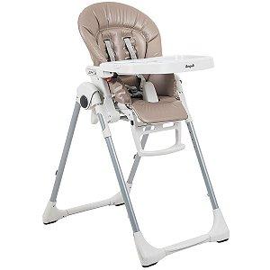Cadeira de Refeição Infantil Reclinável Ajuste Altura De 0 a 36 Meses Prima Pappa Zero 3 Cappuccino - Burigotto