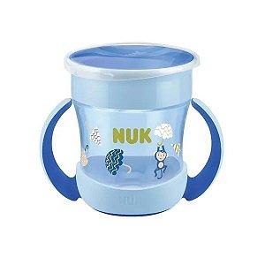 Copo de Bebê Com Alça 160ml 360° Mini Magic Cup NUK Evolution Boy
