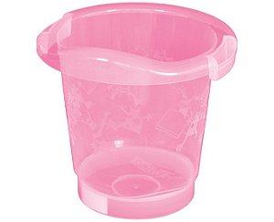Banheira Banho Bebê Ofurô Rosa Até 17 Litros - Burigotto