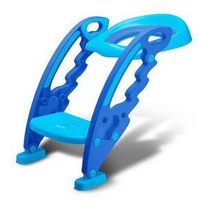 Redutor de Assento Sanitário para Criança com Escada Azul Multikids BB051