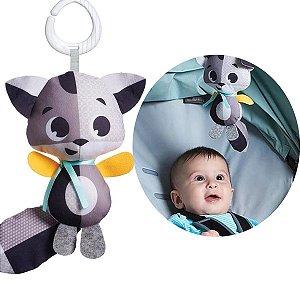 Brinquedo de Bebê Chocalho Infantil Criança Macio A partir Do Nascimento Sons Rattle Christopher Tiny Love