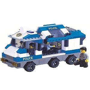 Bloco Montar Defensores da Ordem Polícia 268 peças 06843