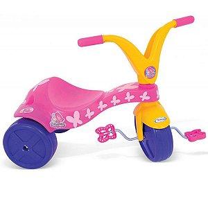 Triciclo Com Estampa de Borboletinha