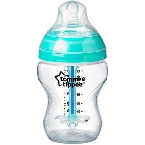 Mamadeira Infantil Anticólica Recém Nascido Medidor de Temperatura Quantidade 260ml Advanced Tommee Tippee