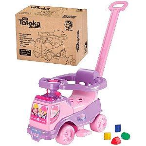 Totoka Plus Menina Carrinho De Passeio Quadriciclo Infantil