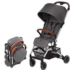 Carrinho de Bebê Passeio Reclinável De 0 meses até 15kg Ping Graphite Grey Abc Design