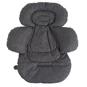 Acolchoado Protetor Bebê Infantil Confort Liner Asphalt - Abc Design