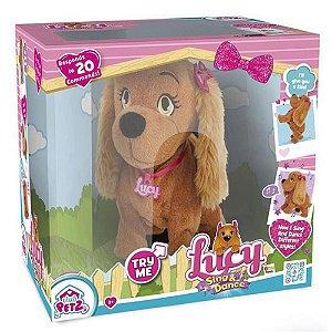 Cachorrinha de Pelucia Interativa Lucy - MultiKids