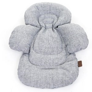 Acolchoado Protetor Bebê Infantil Confort Liner Graphite Grey - Abc Design