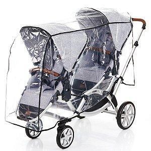 Capa de Chuva Para Carrinho de Bebê Zoom - Abc Design