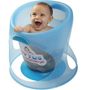 Banheira de Bebê BabyTub Evolution Ofurô Azul De 0 até 8 Meses