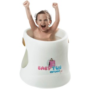 Banheira Infantil Ergonômica BabyTub Ofurô Branco De 1 até 6 Anos