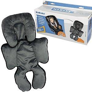 Suporte Acolchoado Para Bebê Conforto Carrinho Auto Completo Reversível Cabeça e Corpo Kababy