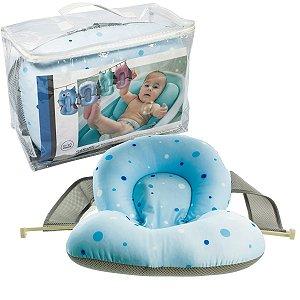 Almofada de Banho para Bebê De 0 a 10 Meses Bolinhas Soft - Kababy
