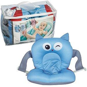 Almofada de Banho para Bebê De 0 a 10 Meses Coruja Soft - Kababy