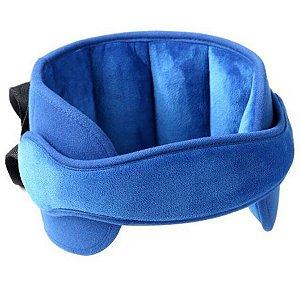 Suporte de Cabeça Crianças Adultos Carro Capacete Acolchoado Para Bebê Conforto Cadeirinha Soneca Kababy Azul