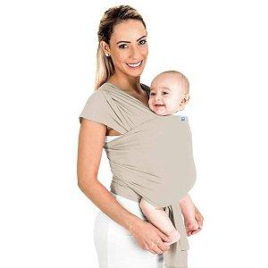Canguru Bebê Infantil 3,5Kg a 16Kg Segurança Wrap Sling Kababy Bege
