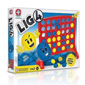 Jogo Lig 4 Para Crianças Acima de 3 Anos - Estrela