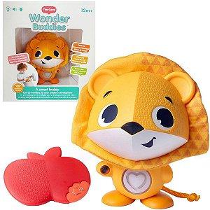 Brinquedo Interativo de Bebê Wonder Buddies Leo com Luzes, Sons e 7 Atividades - Tiny Love