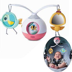 Mobile Musical Berço Bebê Brinquedo Infantil Carrinho Bebê Conforto 2 em 1 Animador Tummy Time Princess Tales