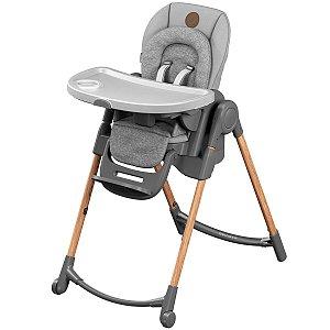 Cadeira de Refeição Infantil Bebê De 0 a 30 Kg Alimentação Criança Minla Essential Grey - Maxi-Cosi