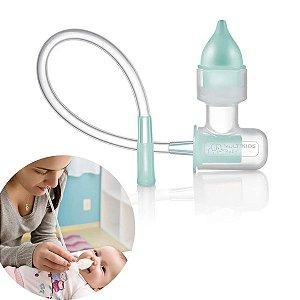 Aspirador Nasal Infantil Bebê Manual Congestão Succao Nose Clean Multikids Baby BB139