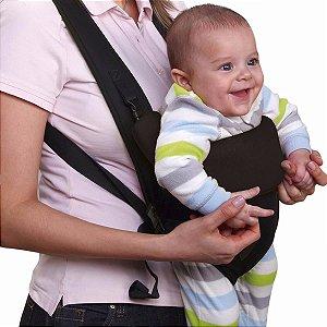 Canguru Para Bebê Safe Multikids Baby Cor Preto Bb014