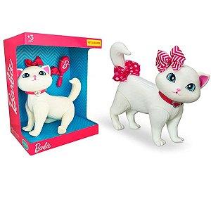 Brinquedo Infantil Pet Barbie Gatinha Blissa Fashion com 5 Acessórios +3 Anos Pupee