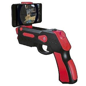 Brinquedo Pistola de Realidade Virtual V-Shot Para Criança - Polibrinq