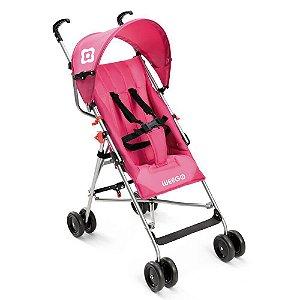 Carrinho de Bebê Guarda-Chuva Way Weego Rosa BB508