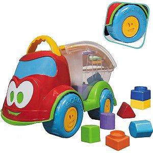 Caminhão de Brinquedo Bebê Educativo Interativo Baby Land Sabidinho Plus