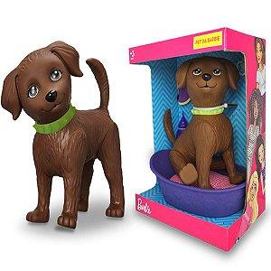 Boneco Pet Da Barbie DJ Cachorro Faz Xixi +3 Anos - Mattel Pupee