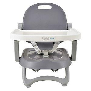 Cadeira de Alimentação Portatíl Sushi Grey Até 15 Kg - Burigotto