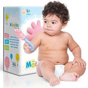 Mordedor E Chocalho Para Bebê Mãozinha BDA +3 Meses - Toyster